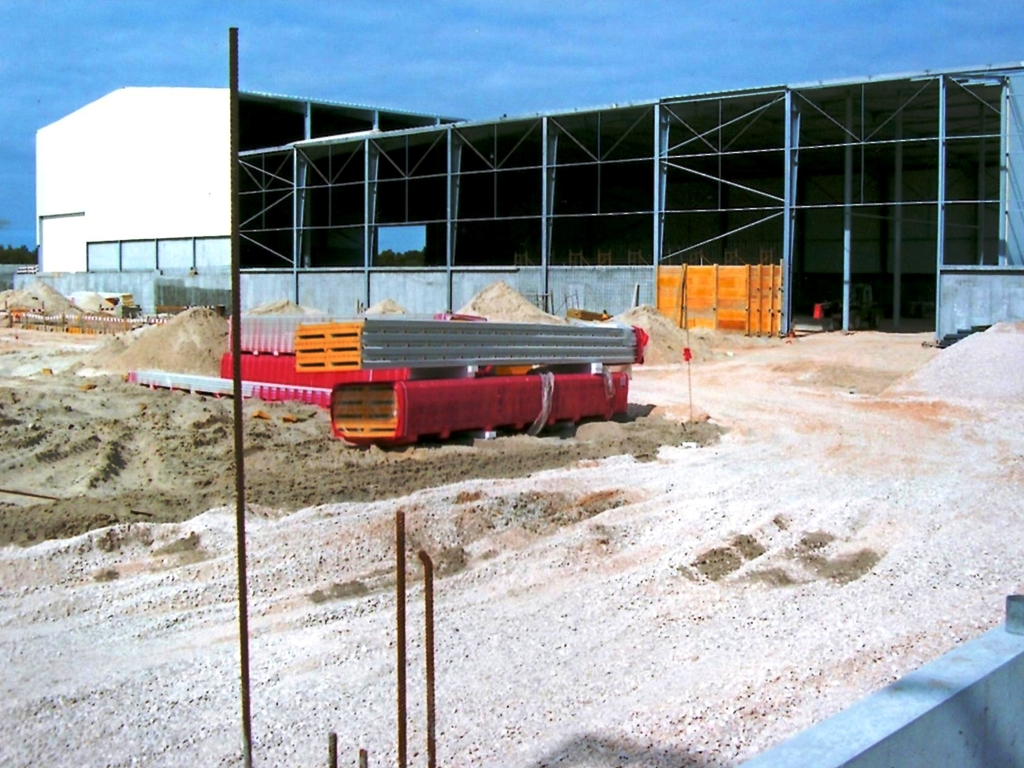 NST Constru��es | Construção Industrial